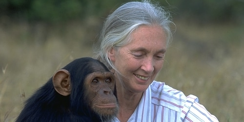 Jane Goodall On Earth Day | University of Redlands | Esri