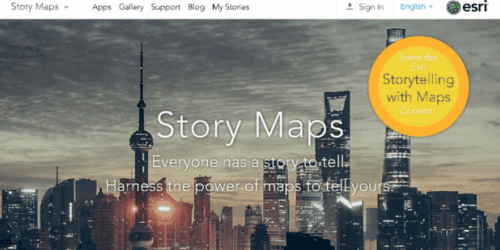 the bureau of land management uses esri story maps news