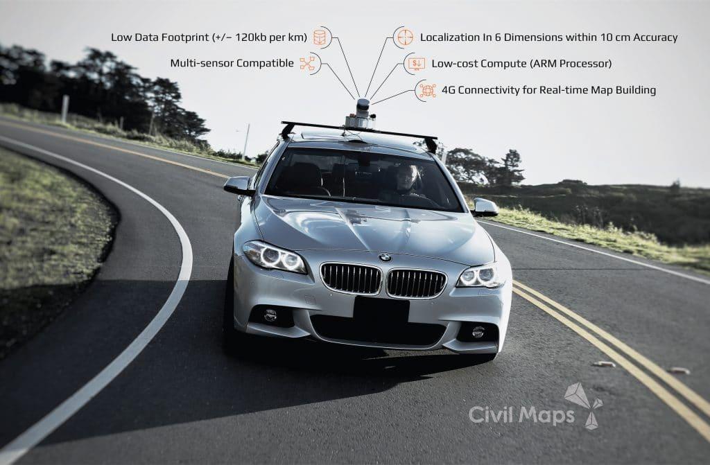 Civil Maps - Atlas DevKit on the road
