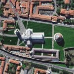 Leaning Tower of Pisa | Italy | 28 March 2017 | WorldView-4