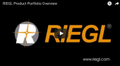 RIEGL Product Portfolio Overview on YouTube