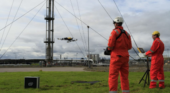 Intel and Cyberhawk inspect gas terminal with drones