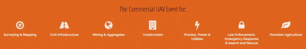 Commercial UAV EXPO incorporates Drone World Expo