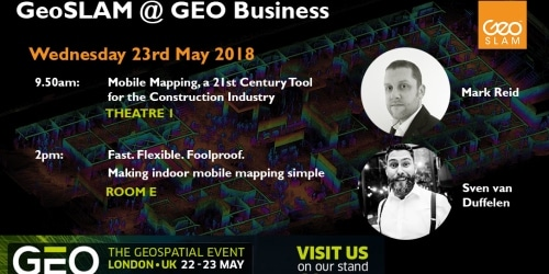 GeoSLAM To Showcase The Future Of Construction | Latest News