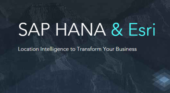 Esri location intelligence to integrate with SAP HANA spatial services