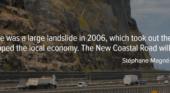 New Coastal Road between main cities
