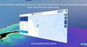 First commercial online store for global shallow-water bathymetry