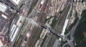 GENOA, ITALY: Satellite Images of Morandi Bridge Collapse