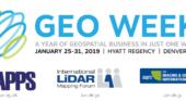 3 Geospatial Events combine to form Geo Week