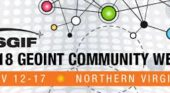USGIF announces 2018 GEOINT Community Week events