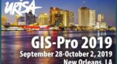 Presentation proposals invited for GIS-Pro 2019 in New Orleans