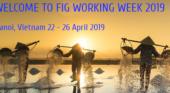 Registration FIG Working Week 2019 now open