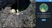 LandViewer features change detection that runs in browser