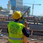 Buildings monitoredduring tunnel construction