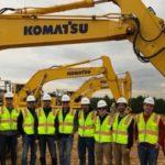 Komatsu Partners with Cesiumon 'Smart Construction'