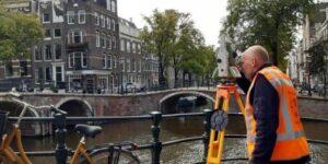 Fugro's Technologies monitor Amsterdam's bridges and Quay Walls