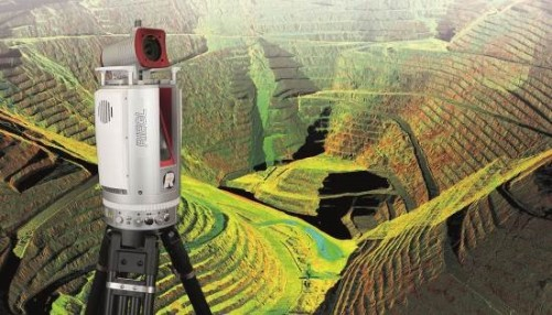 """RIEGL Supportsthe Step Towards the """"Remote Operated Digital Mine"""""""
